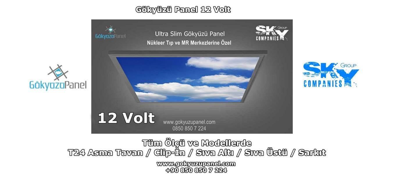Gökyüzü Panel 12 Volt