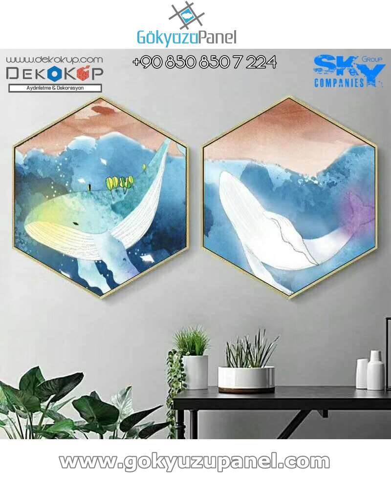 DekoKüp Gökyüzü Panel