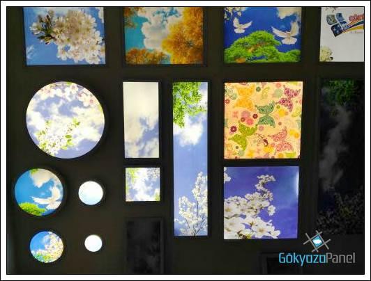 Gökyüzü Panel Ölçü Ve Modeller