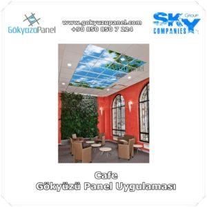 Cafe Gökyüzü Panel Uygulaması