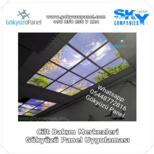 Cilt Bakım Merkezleri Gökyüzü Panel Uygulaması