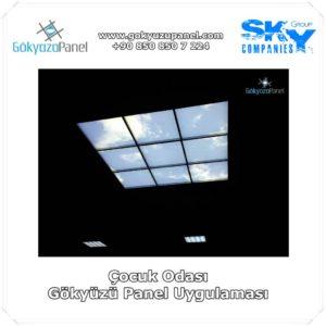 Çocuk Odası Gökyüzü Panel Uygulaması