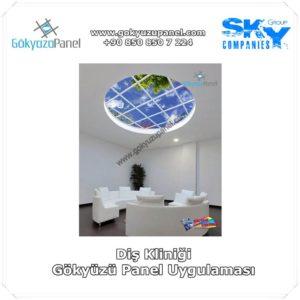 Diş Kliniği Gökyüzü Panel Uygulaması