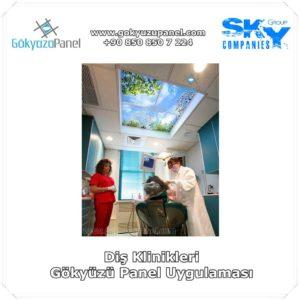 Diş Klinikleri Gökyüzü Panel Uygulaması
