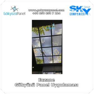 Eczane Gökyüzü Panel Uygulaması