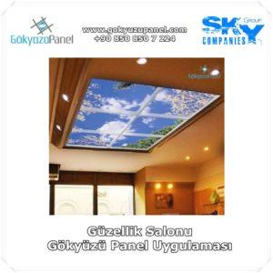 Güzellik Salonu Gökyüzü Panel Uygulaması