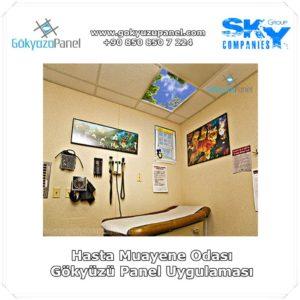 Hasta Muayene Odası Gökyüzü Panel Uygulaması