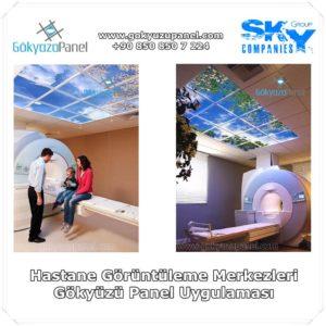 Hastane Görüntüleme Merkezleri Gökyüzü Panel Uygulaması