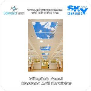 Hastane Acil Servis Gökyüzü Panel Uygulaması