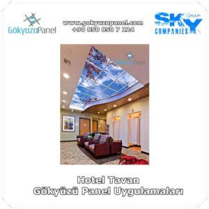 Hotel Tavan Gökyüzü Panel Uygulamaları