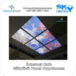 İnternet Cafe Gökyüzü Panel Uygulaması