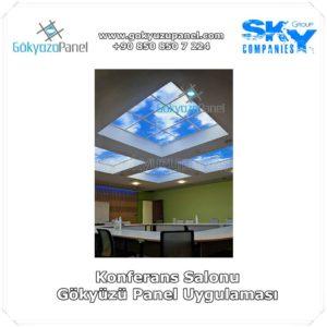 Konferans Salonu Gökyüzü Panel Uygulaması