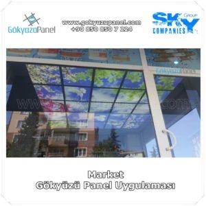 Market Gökyüzü Panel Uygulaması