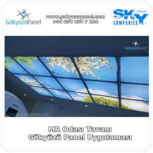 Mr Odası Tavanı Gökyüzü Panel Uygulaması