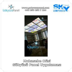 Muhasebe Ofisi Gökyüzü Panel Uygulaması