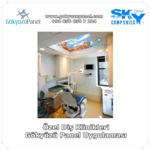 Özel Diş Klinikleri Gökyüzü Panel Uygulaması