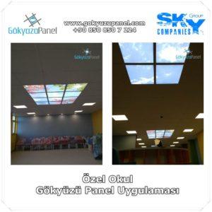 Özel Okul Gökyüzü Panel Uygulaması