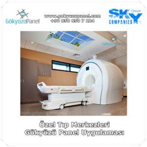 Özel Tıp Merkezleri Gökyüzü Panel Uygulaması