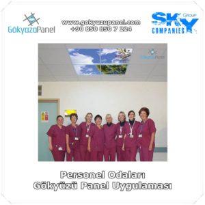 Personel Odaları Gökyüzü Panel Uygulaması