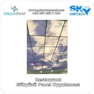 Restaurant Gökyüzü Panel Uygulaması