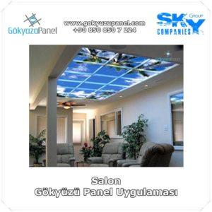 Salon Gökyüzü Panel Uygulaması