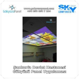 Şanlıurfa Devlet Hastanesi Gökyüzü Panel Uygulaması 2