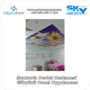 Şanlıurfa Devlet Hastanesi Gökyüzü Panel Uygulaması