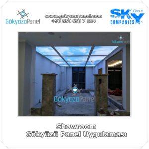 Showroom Gökyüzü Panel Uygulaması
