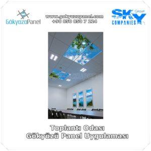 Toplantı Odası Gökyüzü Panel Uygulaması