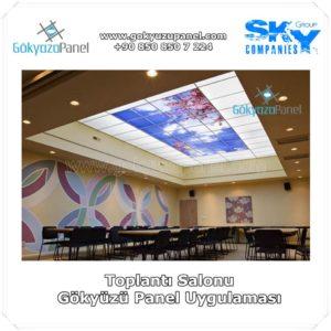 Toplantı Salonu Gökyüzü Panel Uygulaması