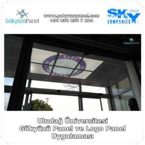 Uludağ Üniversitesi Gökyüzü Panel ve Logo Panel Uygulaması 2