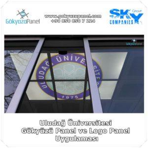 Uludağ Üniversitesi Gökyüzü Panel ve Logo Panel Uygulaması