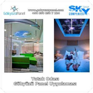 Yatak Odası Gökyüzü Panel Uygulaması