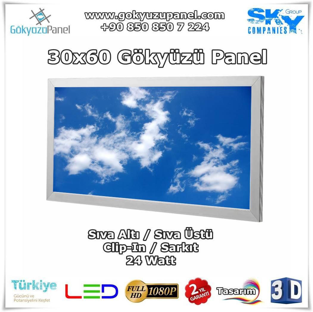 30x60 Gökyüzü Panel
