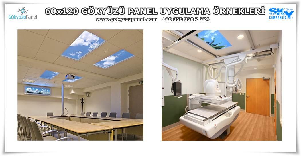 60x120 Gökyüzü Panel Uygulama Örnekleri
