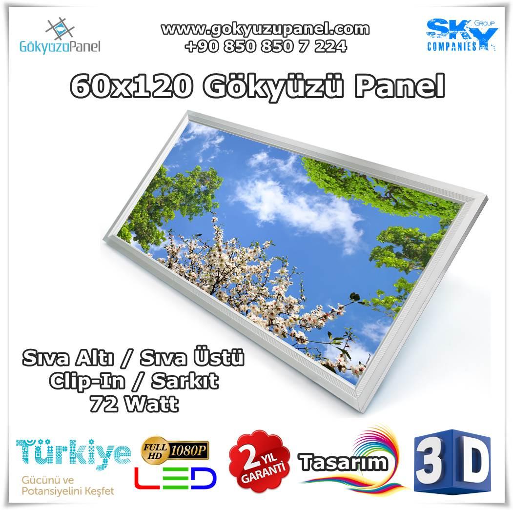 60x120 Gökyüzü Panel