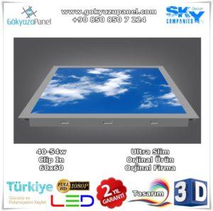 60x60 Gökyüzü Panel Clip-In
