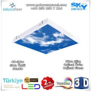 60x60 Gökyüzü Panel Sıva Üstü