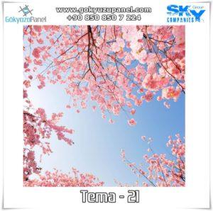 Ağaçlı Gökyüzü Tema - 21