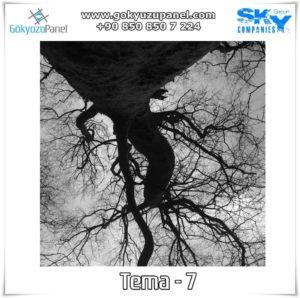 Ağaçlı Gökyüzü Tema - 7
