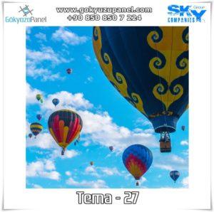 Balonlu Gökyüzü Tema - 27