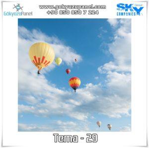 Balonlu Gökyüzü Tema - 29