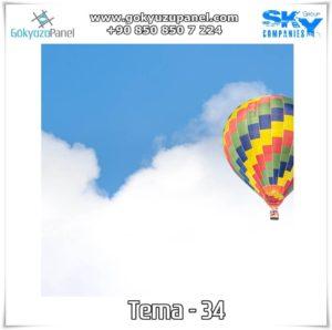 Balonlu Gökyüzü Tema - 34