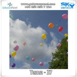 Balonlu Gökyüzü Tema - 37