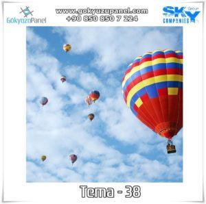 Balonlu Gökyüzü Tema - 38