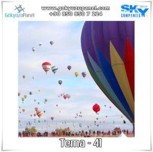 Balonlu Gökyüzü Tema - 41