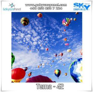 Balonlu Gökyüzü Tema - 42