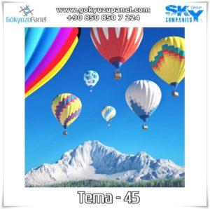 Balonlu Gökyüzü Tema - 45