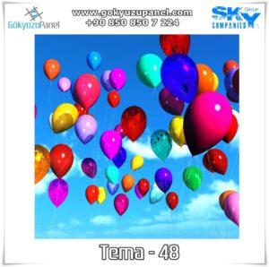 Balonlu Gökyüzü Tema - 48