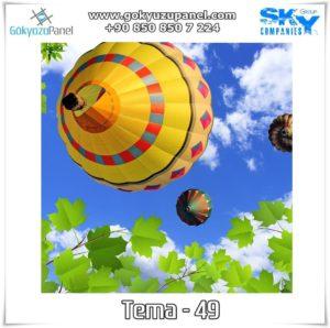 Balonlu Gökyüzü Tema - 49
